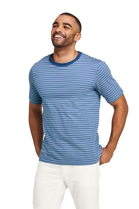 Men's Short Sleeve Stripe Super-T