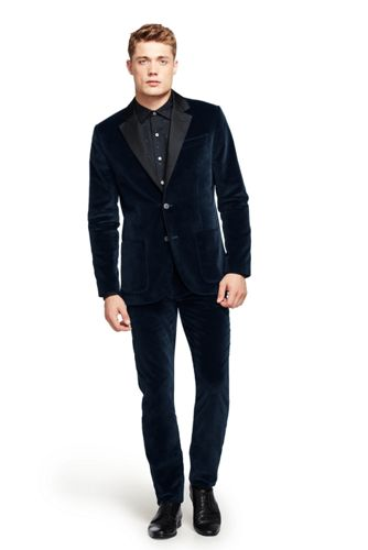 Veste smoking velour homme