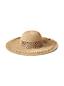 Le Chapeau de Paille à Bords Larges, Femme