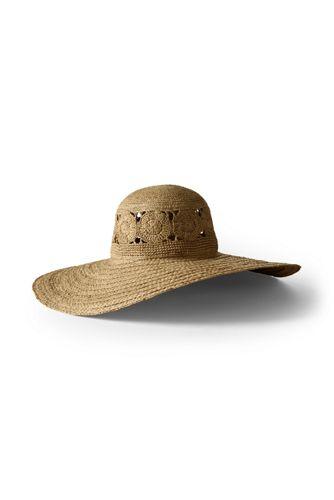 Women s Patterned Wide Brim Sun Hat  1829b175f740