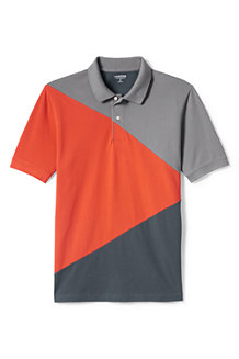 Men's Colourblock Piqué Polo