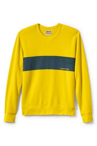 Men's Regular Graphic Jersey Sweatshirt