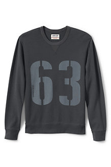 Men's Graphic Jersey Sweatshirt