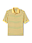 Men's Regular Striped Supima Polo