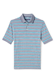 Men's Striped Supima Polo