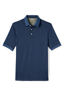 Men's Jacquard Supima Polo