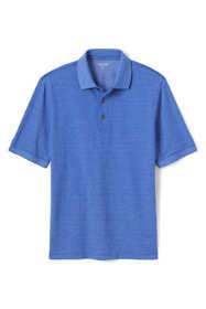 Men's Short Sleeve Supima Jacquard Polo Shirt