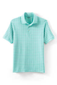Men's Short Sleeve Jacquard Supima Polo Shirt