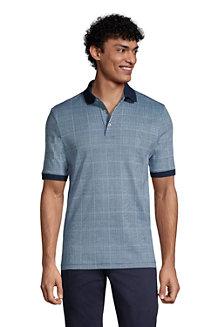 Men's Jacquard Supima Polo Shirt
