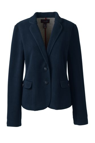 Women's Regular Fleece Blazer