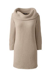 Women's  Combed Cotton Cowlneck Tunic