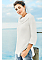 Women's Regular Combed Cotton Cowlneck Tunic