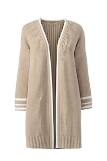 Women's Three-quarter Bell Sleeve Drifter Open Cardigan