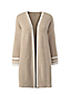 Women's Regular Three-quarter Bell Sleeve Drifter Open Cardigan