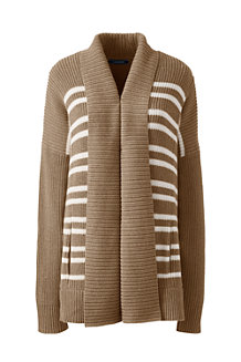 Women's Drifter Mix Stitch Striped Coatigan