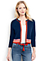 Women's Regular Three-quarter sleeve Supima Reversible Cardigan