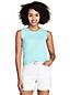Women's Regular Fine Gauge Supima Cotton Sleeveless Jumper