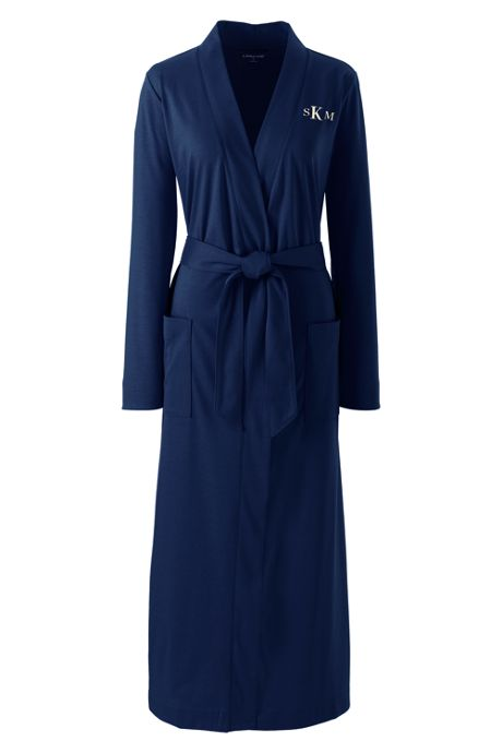 Women's Plus Size Supima Cotton Long Robe