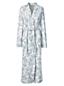 La Robe de Chambre Imprimée à Manches Longues, Femme Stature Standard