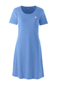 Women's Supima Cotton Short Sleeve Knee Length Nightgown