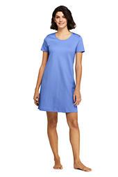d771dd60d2 Women s Knee Length Supima Cotton Nightgown Short Sleeve