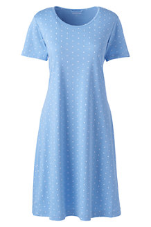 Women's Supima Patterned Nightdress