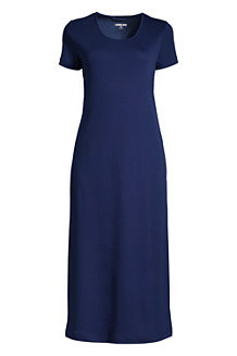 Women's Supima Short Sleeve Calf-length Nightdress
