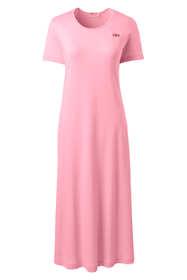 Women's Supima Cotton Short Sleeve Midcalf Nightgown