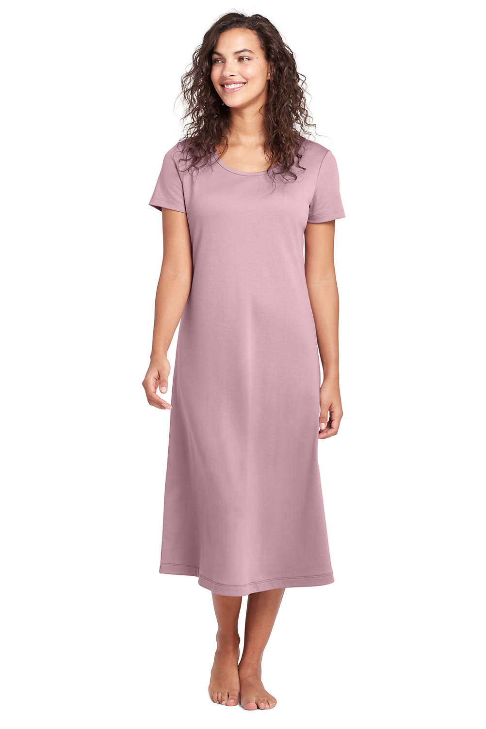 38cbc4e223a Women's Midcalf Supima Cotton Nightgown from Lands' End