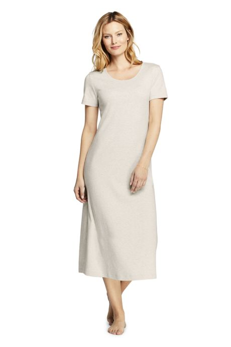 Women's Petite Midcalf Supima Cotton Nightgown