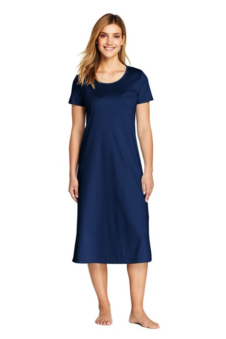 Women's Tall Midcalf Supima Cotton Nightgown