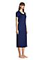 Women's Petite Supima Short Sleeve Calf-length Nightdress