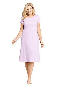 Women s Plus Size Midcalf Supima Cotton Nightgown. 3 Colors Available 4dc92bd91