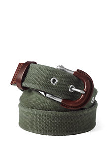 Men's Cotton Webbing Belt