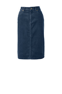 Women's 5-pocket Cord Skirt