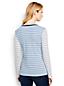 Le T-Shirt Multi-Rayures à Manches Longues, Femme Stature Standard