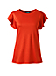 Lyocell/Baumwoll-Shirt mit Volantärmeln