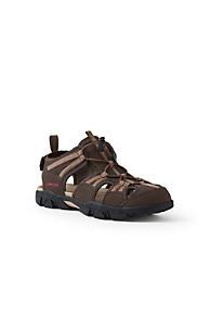 Mens Regular Lightweight Comfort Oxford Lace-up Shoes - 7.5 - BLACK Lands End ML5xn