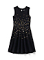 Girls' Sleeveless Sparkle Ponte Dress