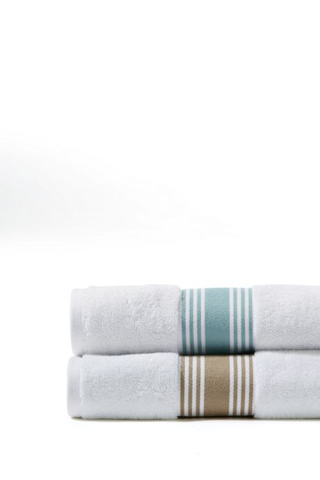 Turkish Ticking Stripe Dobby Hand Towel