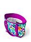Gemusterte Canvas-Tasche mit Reißverschluss für Kids