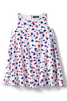 Ausgestelltes gemustertes Kleid für Mädchen