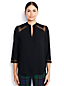 Women's Regular 3-Quarter Sleeve Yoke Inset Blouse
