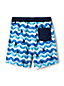 Toddler Boys' Volley Printed Swim Shorts