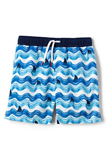 Boys' Volley Printed Swim Shorts