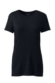 Women's Tall Lightweight Fitted Short Sleeve Crewneck T-Shirt