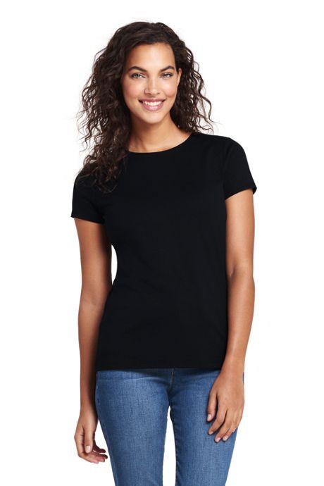 Women's Shaped Layering Crewneck T-shirt