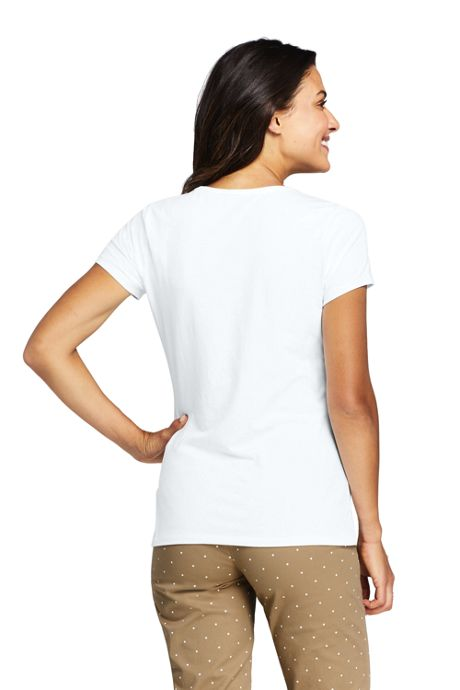Women's Shaped Layering Crewneck Short Sleeve T-shirt