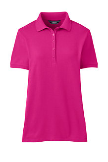 Women's Short Sleeve Pique Polo