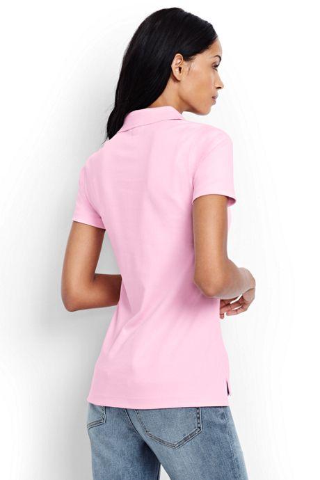 Women's Tall Pima Cotton Polo Shirt